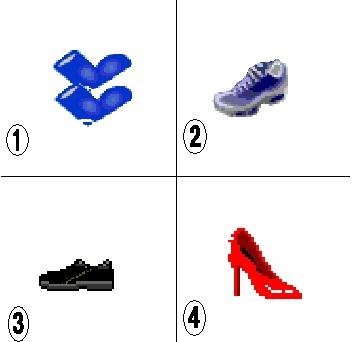 Luyện nghe mua giầy nào