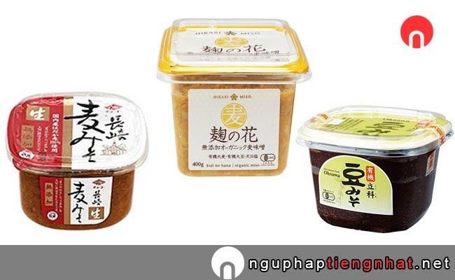 Miso (みそ) là một phần không thể thiếu trong món ăn Nhật